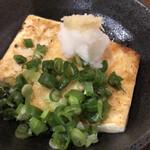 南蛮亭 - 豆腐ステーキ270円