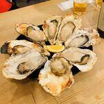 みやじま食堂 - 焼き牡蠣(4個)×2