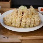 とんかつ成蔵 - 料理写真:TOKYO X リブロース+シャ豚ブリアン