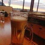 浜焼き白浜家 - 生ビール
