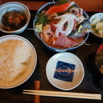 魚鐵 - 中落ち定食