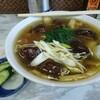 竹田家手打ラーメン店 - 料理写真:具材は、しいたけ、白菜、たけのこ、ねぎ、ほうれん草