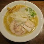 RAMEN 風見鶏 - 塩 大盛り