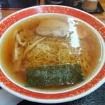 橋龍 - 料理写真:屋台中華そば、ネギ抜き