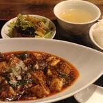 Mashinoken - 火水は麻婆豆腐ランチ