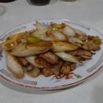 博華 - ネギ肉炒め
