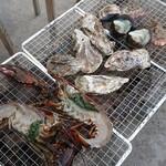 海の駅しおじ - 料理写真: