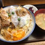 坂本屋 - 坂本屋(カツ丼※大盛)