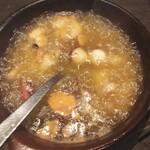 肉バル グランデ - 海鮮アヒージョ