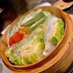 婆娑羅 - 豚と白菜のミルフィーユ