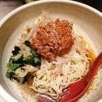 めだかタンタン - 汁なし担々麺(小盛)