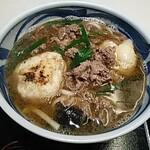 Aioimochihonten - 肉餅うどん
