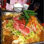 赤鬼 - 料理写真:ちりとり鍋