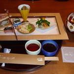 Sagasawakan - 食前酒、お通し、春菜
