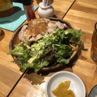酒場食堂 もんぱち 坂ノ上-茹で鶏 おろしポン酢