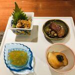 yuechixaitsuxonfa- - 前菜4品からスタート。ビールがススム君☆彡