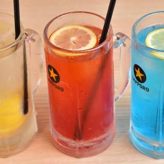 バラエティ豊かなせんべろ酒場。イチ押しは7種類のレモンサワー