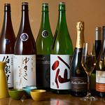 縁楽 - 日本酒とワインの集合