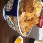 まる藤食堂 - カツ丼