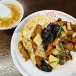 弘華飯店 - 料理写真:大肉炒飯