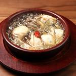 肉バル ジラソーレ - 牡蠣のアヒージョ