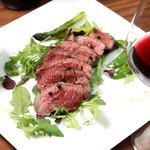 肉バル ジラソーレ - 葡萄牛のランプステーキ