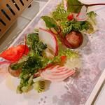 ランプ - ◆冬の宮城県産野菜でBBQ♪【塩昆布&バーニャカウダ】