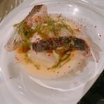 ランプ - ◆真鱈と大根の白ワイン蒸し 2種のソースで 【ブールブラン&サルサヴェルデ】