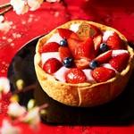 焼きたてチーズタルト専門店PABLO - 2020年1月新年初売り日~1月末日 まで「いちご大福チーズタルト」を販売致します。