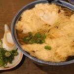 蕎麦 の澤 - 玉子とじそば 790円