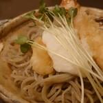 蕎麦 の澤 - 海老天とろろそば 1,000円