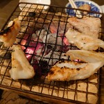 蕎麦 の澤 - 若鶏なんこつ炭火焼き