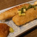 蕎麦 の澤 - 国産合鴨つくね串 420円