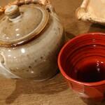 蕎麦 の澤 - そば湯