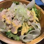 ふるはうす - 茹で鶏のガーデンサラダ