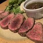 ふるはうす - 短角牛のステーキ