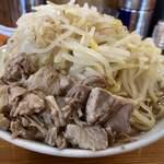 麺とび六方 - ラーメン 780円 野菜増し