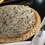 えびな 上野藪そば - せいろ蕎麦