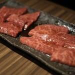 新宿 焼肉ブルズ - 特選赤身2種盛り