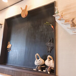 Cafe 豆うさぎ - 店内