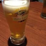 bungotakadadorisakaba - 生ビール