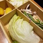 しゃぶしゃぶ温野菜 - 野菜