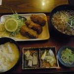 そば処 朝日屋 - 料理写真:カキフライ定食