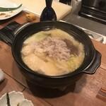 お料理 ほそかわ - 出汁鍋!