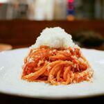 リストランテ ハナタニ - ☆徳島産フルーツトマトとモッツァレラチーズ 1750円