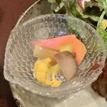 ジャム cafe 可鈴 - 【週替わりランチ(1,050円)】自家製ピクルス