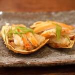 麻布 幸村 - 香箱蟹のお寿司
