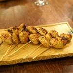 麻布 幸村 - 鶏のつくね焼き