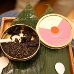 麻布 幸村 - Caviar Places のキャビア