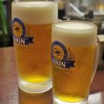 黒百合 - 生ビール